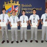 Colegio Británico obtuvo resultados sobresalientes en Olimpiadas