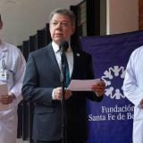 """""""Exámenes médicos dejan ver un mejor escenario posible"""": Santos"""