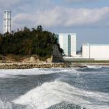Vista de la central Nuclear de Daini en Naraha en la prefectura de Fukushima.