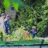 Autoridades de rescate durante un operativo.