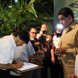 Maduro y Morales rinden tributo a Fidel en la Plaza de la Revolución