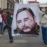 La caravana con las cenizas de Fidel Castro parte de Camagüey hacia Bayamo