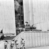 La toma del Palacio de Justicia de 1985.