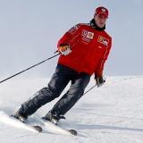 Michael Schumacher era también aficionado al esquí.