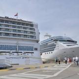 Una de las actividades destacadas es el turismo, y Cartagena como una de las abanderadas con la llegada de buques.