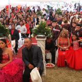 Unas 30.000 personas asistieron a la fiesta de 15 años de Rubí, en México