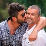 Fadi Fawaz y George Michael en una imagen de la red social Twitter.