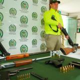 Ejército incauta armamento al Clan del Golfo en Meta