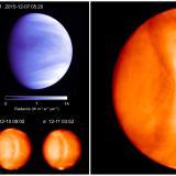 Detectan una posible onda gravitatoria en la atmósfera de Venus