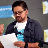 'Iván Márquez', miembro del secretariado de las Farc.