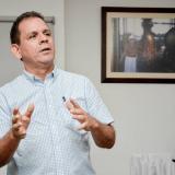 Roberto De Lima, gerente de Fundelima.