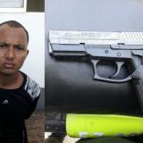 Cuarto capturado con una de las armas robadas en Escuela de la Policía