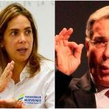Sigue rifirrafe entre Gina Parody y Álvaro Uribe por caso Odebrecht