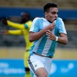 Argentina cobra vida y hunde a Colombia en el Suramericano Sub-20