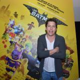 Alejandro Riaño durante la premier de la película 'Lego Batman'