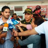 Taxistas firman alianza con el Gaula para informar sobre extorsiones