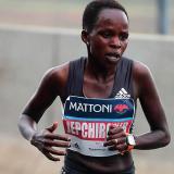 keniana Peres Jepchirchir bate el récord del mundo de medio maratón