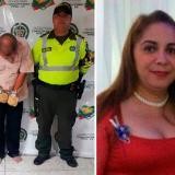 Alberto Luis Redondo Sarso, capturado por la Policía. Está sindicado de asesinar a su compañera Daisy Candelaria Vergara Guzmán con quien aparece en esta imagen de archivo (derecha).