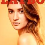 Elizabeth Elam en la portada de marzo de la revista Playboy.