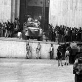 Imagen de la toma del Palacio de Justicia.