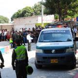 En este sector del barrio Primero de Mayo, en Soledad, fue asesinado 'el Lorito'.