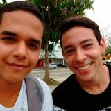La pareja Bayron Gutiérrez y Rafael Salgado.