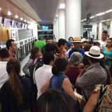Por daño en las luces de la pista cierran aeropuerto de Santa Marta