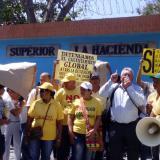 Nueva protesta en la Normal La Hacienda en contra del nodo del Sena
