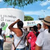 Madres comunitarias marcharon en La Guajira