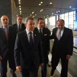 Santos inauguró obras por $2,4 billones en el aeropuerto El Dorado