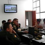 Comité Distrital de Orden Público reunido para activar dispositivos de seguridad.
