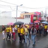 Desde este martes los docentes de Maicao protestan por las contrataciones.