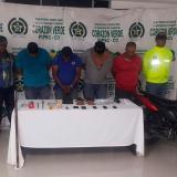Capturan en Chinú a banda señalada de robar cajeros automáticos en la costa