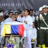Rafael Santos se desmaya en homenaje a Martín Elías