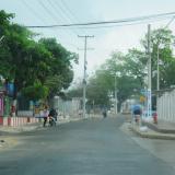 Calle 83B con carrera 27 en el barrio Me Quejo, donde la víctima recibió los disparos.