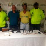 Los capturados fueron dejados a disposición de la Fiscalía Quinta Antinarcóticos de Barranquilla.