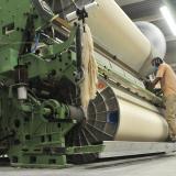 Operarias que laboran en una de las empresas más grandes del sector textil en Barranquilla.