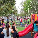 Fiesta en El Recreo: comunidad estrenó bulevar