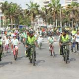 Barranquilla celebró el Día del Niño con  la 'Biciquilla Kids'