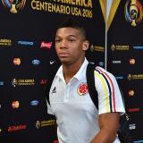 Frank Fabra, jugadoir colombiano.