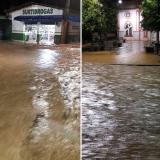 Así amanecieron varias calles en el municipio de San José de Uré.
