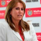La nueva ministra de Trabajo, Griselda Janeth Restrepo.