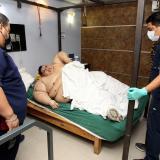 El hombre más obeso del mundo fue sometido a una operación en México