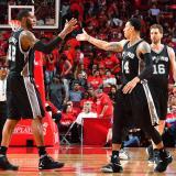 Los Spurs vencen 114-75 a los Rockets y avanzan a la final del Oeste