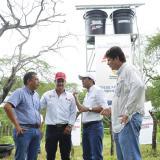 Instalan tres pozos de agua para labores agrícolas