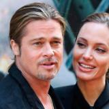Brad Pitt y Angellina Jolie.
