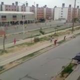 En video   Nuevo enfrentamiento de pandillas en Urbanización Las Gardenias