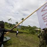 Exhuman los restos de 34 víctimas de la masacre de Bojayá