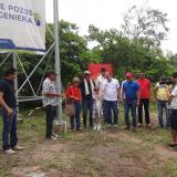 Gobernación inaugura profundo en la vereda El Tamarindo, de Malambo