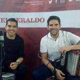 Peter Manjarrés y Juancho De la Espriella en EL HERALDO
